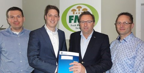 Fresh Mushroom Europe optimises company processes with SI Foodware Fresh Produce