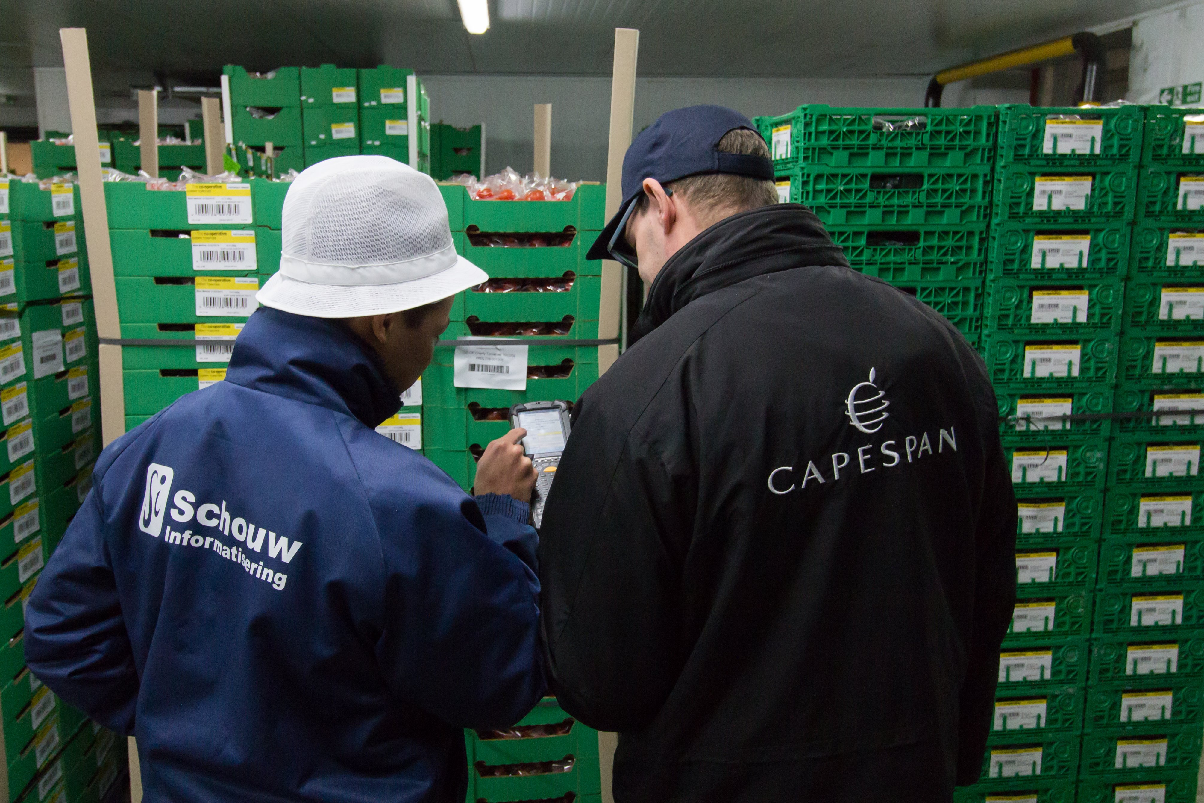 Schouw and Capespan on the shop-floor